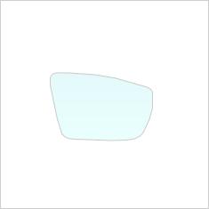Exterior mirror glass