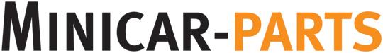 Logo Aixam bonnet / tailgate (Chrome / black text)